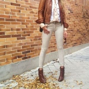 Bandolino denim jeans slim straight legs size 16